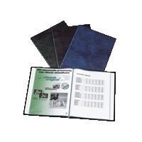 Rillstab album: display book A4 - Blauw