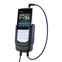 Carcomm houder: CMPC-214 Mobile Smartphone Cradle Nokia X3 Touch and Type - Zwart