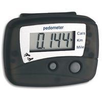 "TFA-Dostmann pedometer: 42.2003 - ""Hitrax Walk"" electronic pedometer, LR44, 40g"