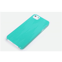ROCK mobile phone case: Texture Ultra Thin Case Apple iPhone 5/5S/SE, Blue - Blauw
