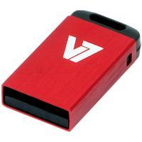 V7 USB NANO STICK 16GB RED