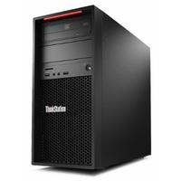 Lenovo ThinkStation P520c Tower Xeon W 16GB RAM 256GB SSD Pc - Zwart