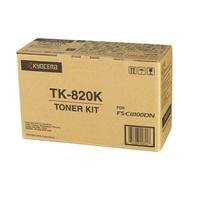 KYOCERA toner: TK-820K - Zwart
