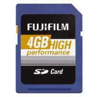 Fujifilm flashgeheugen: 4GB High Performance SDHC Class 10