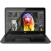 HP laptop: ZBook 14 G2 - Intel Core i7 - Windows 10 Pro - Zwart