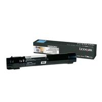 Lexmark toner: X950, X952, X954 tonercartridge zwart met extra hoog rendement