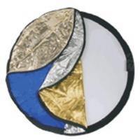 Dörr CRK-42 Fotostudioreflector - Zwart, Blauw, Goud, Zilver, Wit