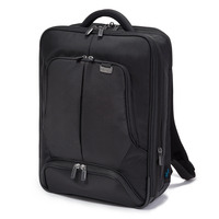 Dicota rugzak: Backpack PRO 15-17.3, Nylon - Zwart