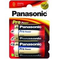 Panasonic batterij: 1x2 LR20PPG - Blauw, Goud, Rood