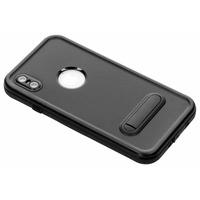 Dot Plus Waterproof Backcover iPhone Xs Max - Zwart / Black