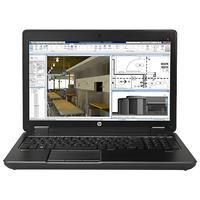 HP laptop: ZBook 15 G2 - Intel Core i7 - Zwart