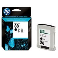 HP inktcartridge: 88 originele zwarte inktcartridge