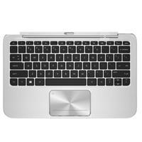 HP mobile device keyboard: Keyboard Dock for Envy x2 - Zwart, Zilver, QWERTZ