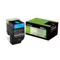 Lexmark cartridge: 802C - Cyaan