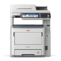 OKI multifunctional: MB770dn - Grijs, Wit