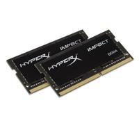 HyperX RAM-geheugen: Impact 16GB DDR4 2133MHz Kit - Zwart