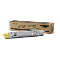 Xerox toner: Hoge capaciteit tonercartridge, geel, Phaser 6300 (werkt niet met PHASER 6350)