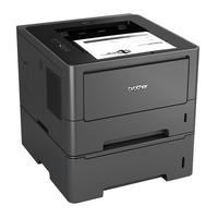 Brother laserprinter: HL-5450DNT - Netwerk Laserprinter 38 ppm - 64 MB - interne duplexunit - 2 papierladen - Zwart