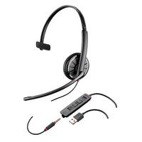 Headset Plantronics zwartwire USB/3,5mm C315.1-M monaural UC