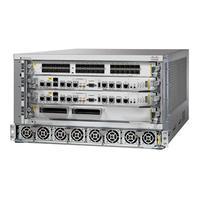 Cisco ASR 9904 netwerkchassis - Grijs