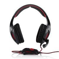 Modecom headset: MC-830 Patriot - Zwart, Rood