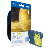 Brother inktcartridge: LC-1100Y Inktcartridge geel