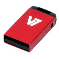 V7 USB NANO STICK 32GB RED