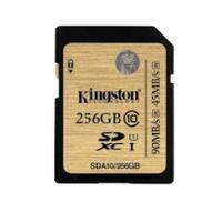 Kingston Technology flashgeheugen: SDXC UHS-I 256GB - Zwart, Goud