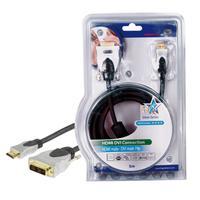 HQ HDMI kabel: SS5551/5 - Zwart