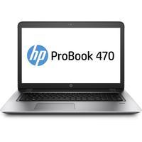 """HP laptop: ProBook 470 G4 i5 17.3""""  - Zilver"""