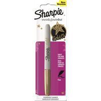 Sharpie marker: Metallic - Goud, Wit
