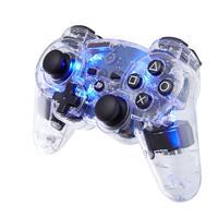 Bigben Interactive game controller: Officieel gelicenseerde draadloze PS3 controller - transparant met .....