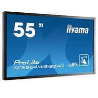 """Iiyama public display: TE5564MIS-B2AG/55""""IPS 10-Pts Touch FHD - Zwart"""