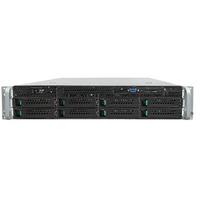 Intel server barebone: Server System R2308WTTYSR - Zwart, Metallic