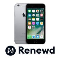 Renewd smartphone: Apple iPhone 6s Plus - Grijs 16GB