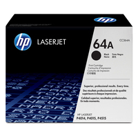 HP cartridge: 64A originele zwarte LaserJet tonercartridge