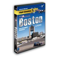 Aerosoft game: Mega Airport Boston Logan (FS X Add-On)  PC