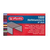 Herlitz nietjes: 24/6, 1000 pcs, in box