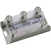 Schwaiger kabel splitter of combiner: VTF7764 531 - Zilver