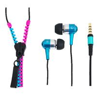 LogiLink koptelefoon: Zipper - Blauw, Roze