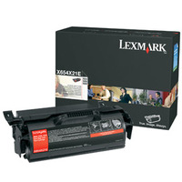 Lexmark toner: X654, X656, X658 Extra High Yield Print Cartridge - Zwart
