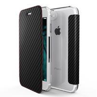 X-Doria mobile phone case: Engage Folio - Zwart, Koolstof