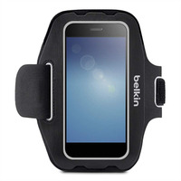 Belkin mobile phone case: Universal Armband Small - Zwart