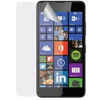 Azuri screen protector: Duo Screen Protector voor Microsoft Lumia 640 - Ultra Clear - Transparant