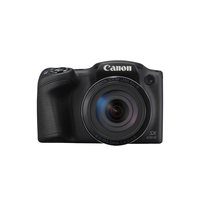 Canon digitale camera: PowerShot SX430 IS - Zwart