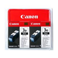 Canon inktcartridge: BCI-3EBK, 2-pack - Zwart