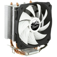 Alpenföhn Ben Nevis Hardware koeling - Zwart, Copper, Zilver, Wit