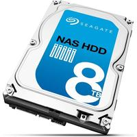 Seagate interne harde schijf: Desktop HDD NAS 8TB +Rescue