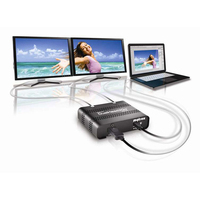 Matrox DualHead2Go Digital SE Video splitter - Zwart