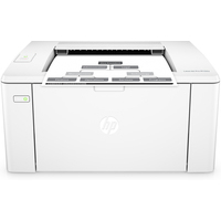 HP laserprinter: LaserJet M102a - Zwart